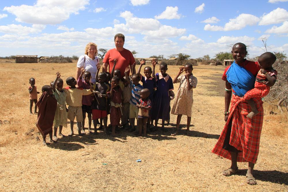 Leben braucht Wasser: Familie Stuck mit Kindern!